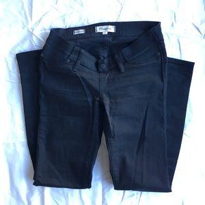 Black Skinny Maternity Jeans // Madewell